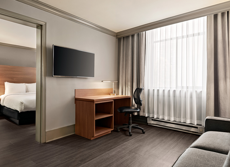 Executive Suite Hotel Room